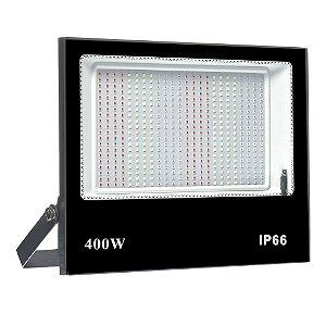 Refletor Holofote MicroLED SMD Slim 400W RGB Colorido com Controle