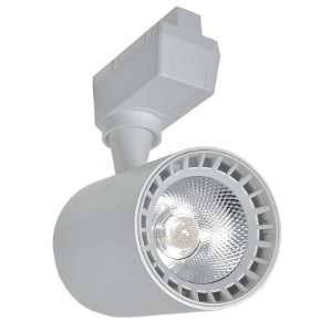 Spot LED 5W Branco Quente para Trilho Eletrificado Branco
