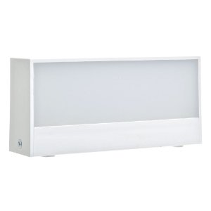 Luminária Arandela LED 9W Branco Quente Branca
