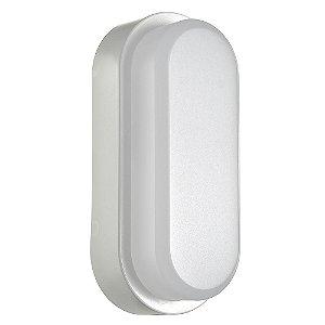 Luminária Arandela LED 5W Tartaruga Sobrepor Branco Frio Branco