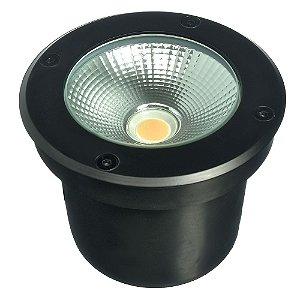 Balizador LED 12W Embutir Quadrado Branco Quente