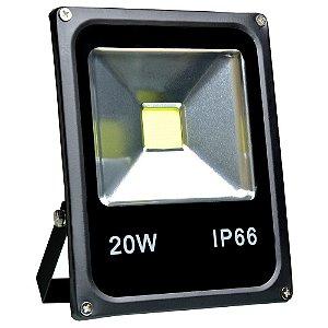 Refletor Holofote LED 20w Branco Frio