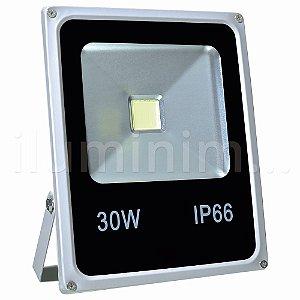 Refletor Holofote LED 30w Branco Frio