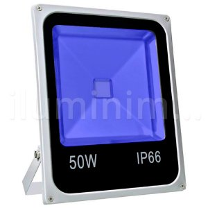 Refletor Holofote LED 50w Azul
