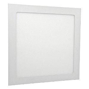 Luminária Plafon 25w LED Embutir Branco Quente