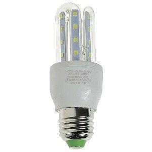 Lâmpada LED Milho 3U E27 5W Branco Frio | Inmetro