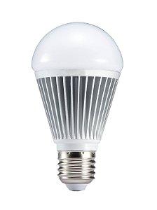 Lampada LED Bulbo 9w Corpo alumínio