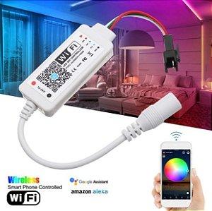 Controlador Wireless Inteligente Fita LED RGB 3528 e 5050