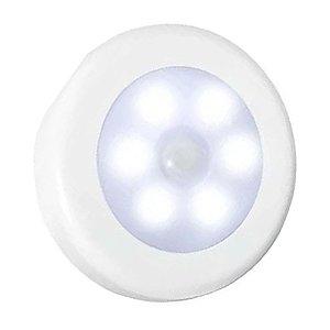 Spot LED SMD 3W Redondo Branco Quente com Sensor de Presença