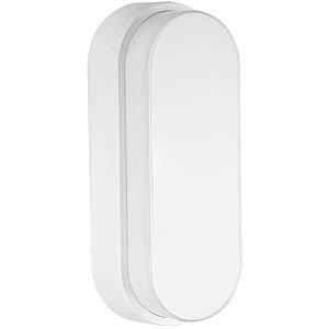Luminária Arandela LED 12W Tartaruga Sobrepor Branco Frio Branco