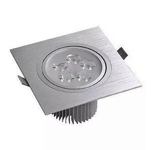 Spot 9W Dicróica LED Direcionável Base Alumínio