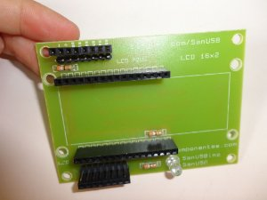 Shield Adaptador Display LCD 16x2 e 20x4