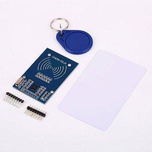 RFID MFRC 522 13,56MHz + Cartão + Chaveiro