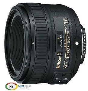 Lente Nikon AF S NIKKOR 50mm f/1.8G