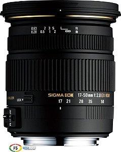 Lente Sigma DC 17-50mm F2.8 EX OS HSM Para Canon