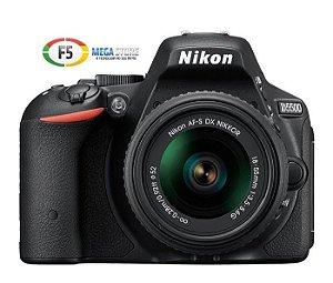 Camera Nikon D5500 Com Lente AF S DX 18 55mm  24.2 Megapixels Expeed 4