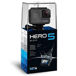 Filmadora GoPro HERO5 Black 4K Ultra HD 12 MegaPixels GPS