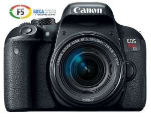 Camera Canon EOS Rebel T7i EF S 18 55mm IS STM Tela Touch Wi-Fi Digic7