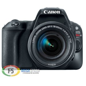 Camera Canon EOS Rebel SL2 EF S 18 55mm IS STM 24.2MP Touch Screen Wi Fi DIGIC 7