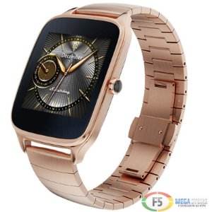 "ASUS ZenWatch 2 WI501Q Tela Touch AMOLED 1.63"" Flash eMMC 4GB 512MB Ram Android Wear Dourado"