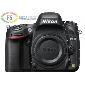 Camera Nikon D610 Corpo sem Lente Full Frame 24.3 MP Full HD FX