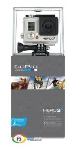 Filmadora GoPro HERO3+ Silver Edition Full HD Wi Fi 10 Megapixels Com Bateria Extra
