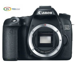 Camera Canon EOS 70D Corpo 20.2 megapixels Full HD Wifi