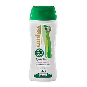 Protetor Solar Oil Free Sunless Fator 50 120 ml