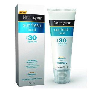 Protetor Solar Facial Sun Fresh Neutrogena Fator 30 50ml