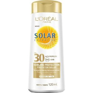 Protetor Solar Expertise Sublime Protection FPS 30 120ml