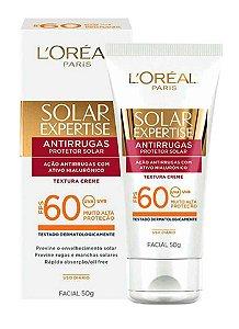 Protetor Solar Expertise Facial Antirrugas FPS 60 50g