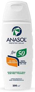 Protetor Solar Loção Anasol FPS 50 200 ml