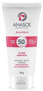 Protetor Solar Facial Anasol FPS 50 60 g
