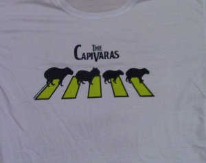 Camiseta THE CAPIVARAS