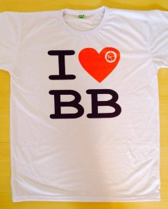 Camiseta I Love BB