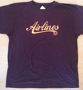 Camiseta  Airlines Chocolate