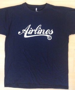 Camiseta  Airlines Allblack