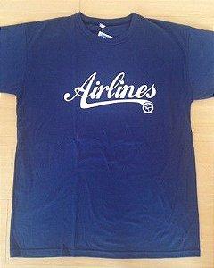 Camiseta  Airlines Azul