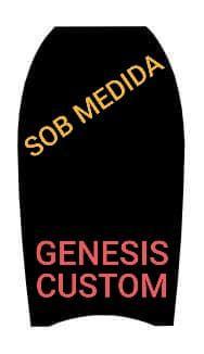Bodyboard Genesis sob Medida - Frete Grátis - Duralight (PP)