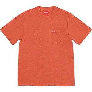 "ENCOMENDA - SUPREME - Camiseta Pocket SS21 ""Laranja"" -NOVO-"