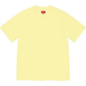 "ENCOMENDA - SUPREME - Camiseta Pocket SS21 ""Amarelo"" -NOVO-"