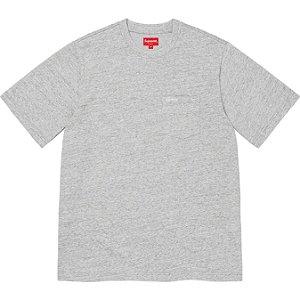 "ENCOMENDA - SUPREME - Camiseta Pocket SS21 ""Cinza"" -NOVO-"