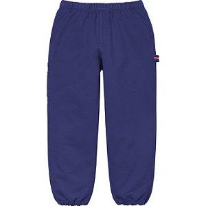 """ENCOMENDA - SUPREME - Calça Utility Pocket Sweatpant """"Azul"""" -NOVO-"""
