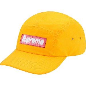 """ENCOMENDA - SUPREME - Boné Reversed Label """"Amarelo"""" -NOVO-"""