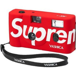 "!SUPREME x YASHICA - Camera Fotográfica Analógica MF-1 ""Vermelho"" -NOVO-"