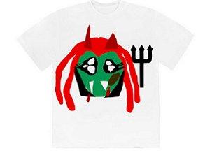 "CPFM x PLAYBOI CARTI - Camiseta Whole Lotta Red King Vamp ""Branco"" -NOVO-"