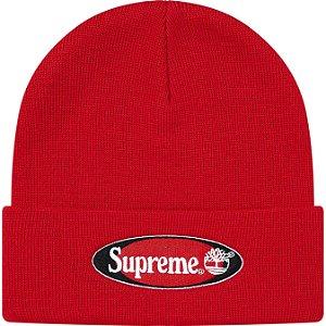 """ENCOMENDA - SUPREME x TIMBERLAND - Touca Logo """"Vermelho"""" -NOVO-"""