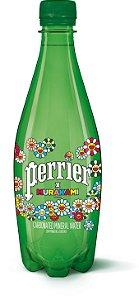 """!PERRIER x TAKASHI MURAKAMI - Garrafa de Água 500ml """"Flower"""" -NOVO-"""