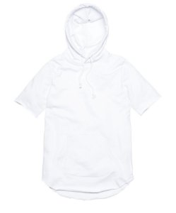 KITH - Moletom Frayed Hoody White