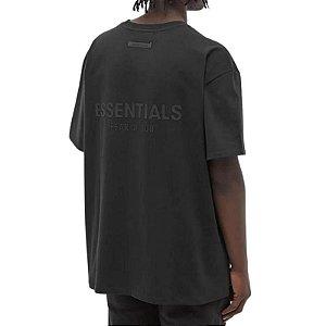 """!FOG - Camiseta Essentials Logo """"Preto"""" -NOVO-"""